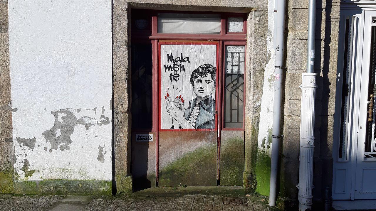 As obras de Banksy en Lugo.THE BEATLES EN 1969