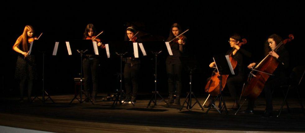 En O Barco de Valdeorras, los escolares dan varios conciertos a lo largo del curso.