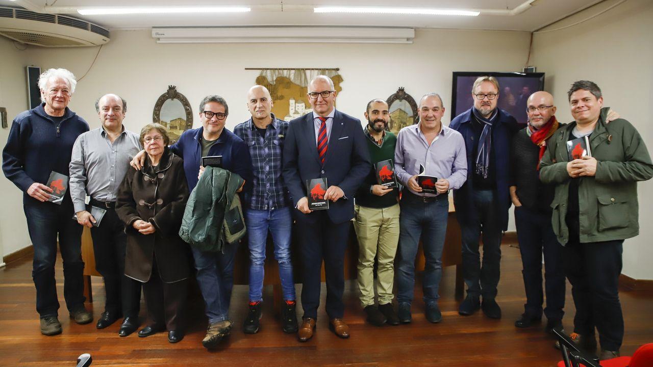 Foto de familia del acto de entrega del premio en la edición del 2019