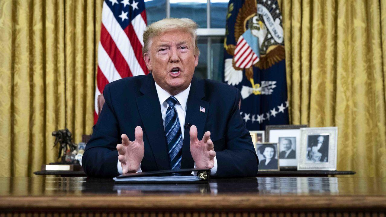 Trump suspende los viajes desde Europa durante un mes por el coronavirus