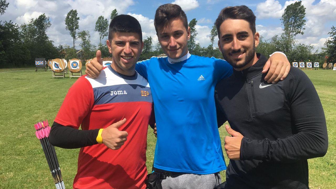 Los hermanos Federico y Arturo Alonso en la regata  49er de la Copa del Mundo