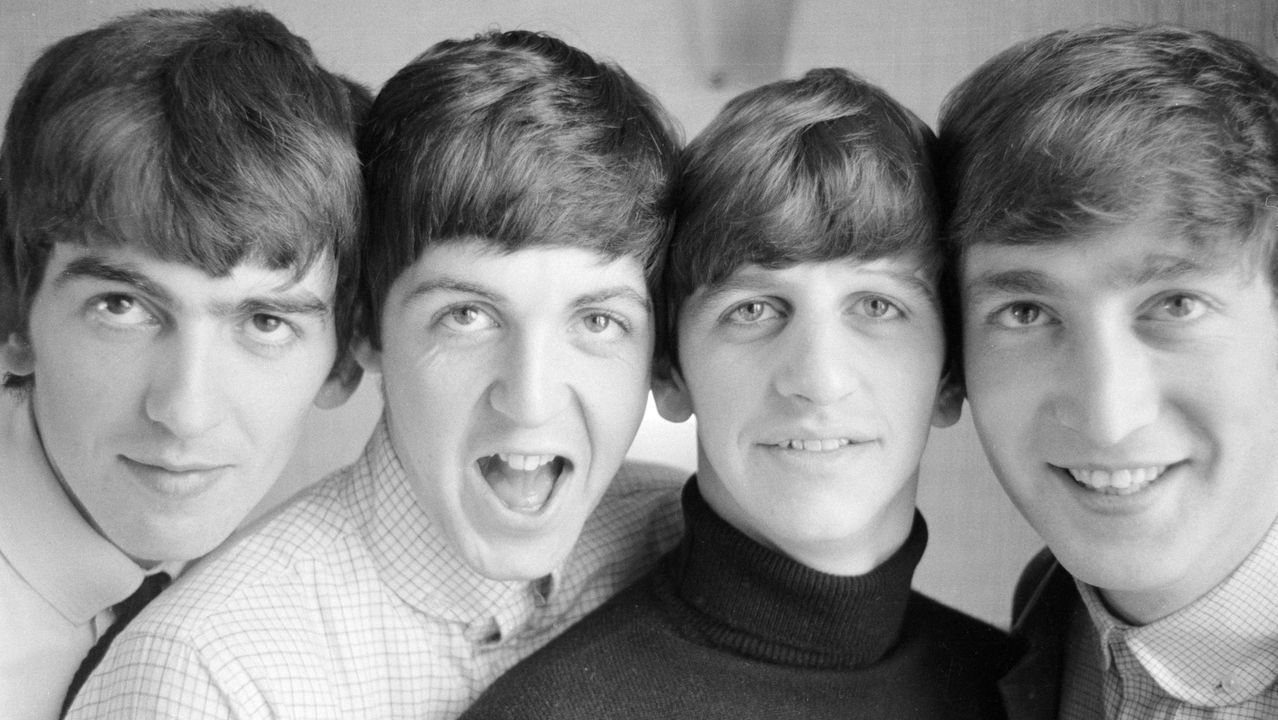 Los Beatles, retratados por Norman Parkinson en 1963