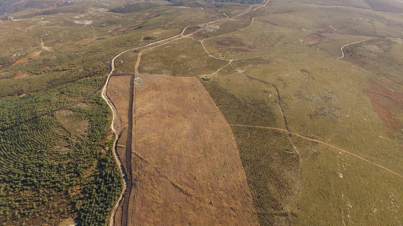 El recinto de Lomba do Mouro, en la sierra de Laboreiro, está situado en la frontera entre Galicia y Portugal