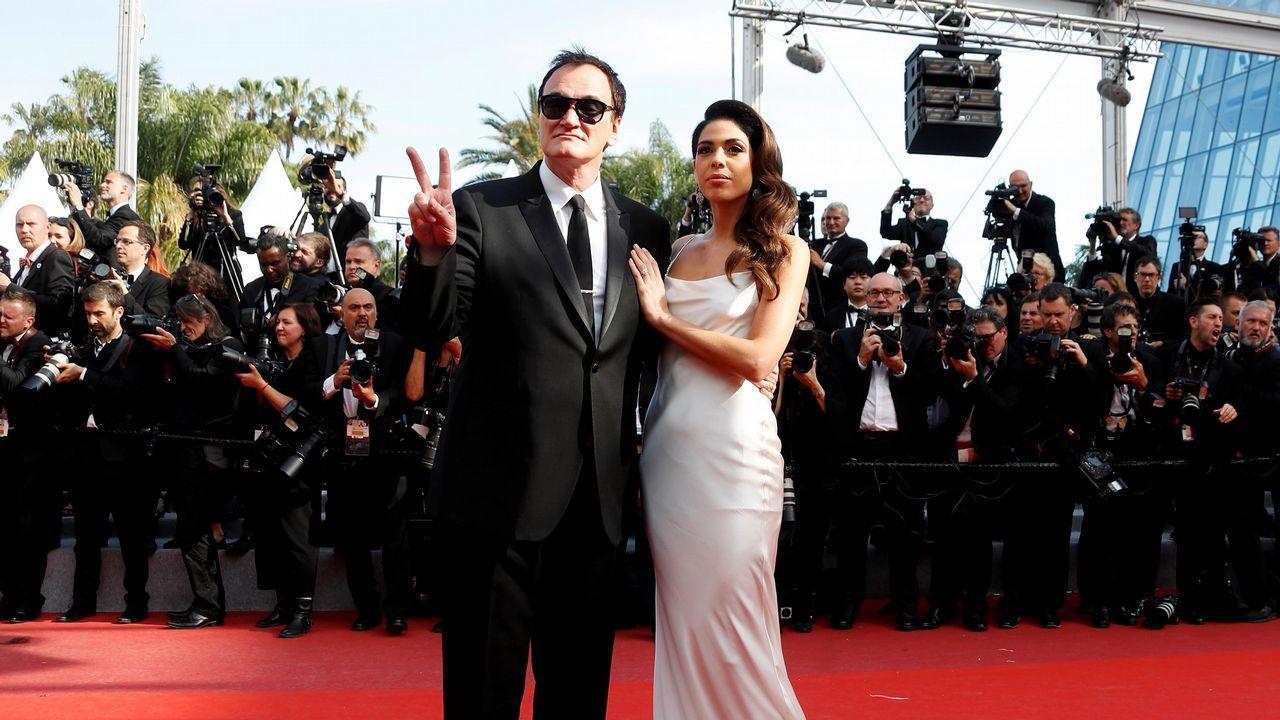 Quentin Tarantino y su esposa, Daniella Pick