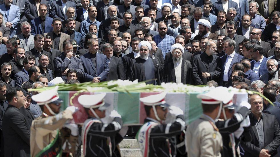 Proetsta en Nueva York por una visita del ministro de Exteriores iraní