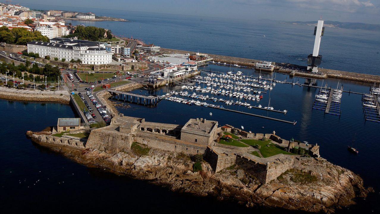Castillo de San Antón, A Coruña