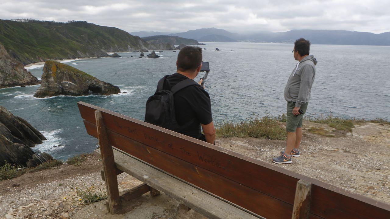 Ría del Eo.El programa  Come a comarca  na Terra Chá