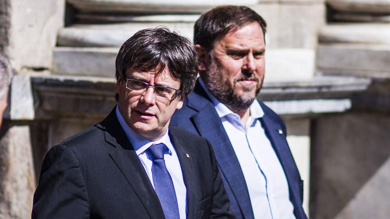 Puigdemont sobre el aplazamiento de la Justicia belga de la decisión de extradición: «Teníamos razón en confiar en la Justicia europea».Giorgia Meloni, líder del ultranacionalista Hermanos de Italia