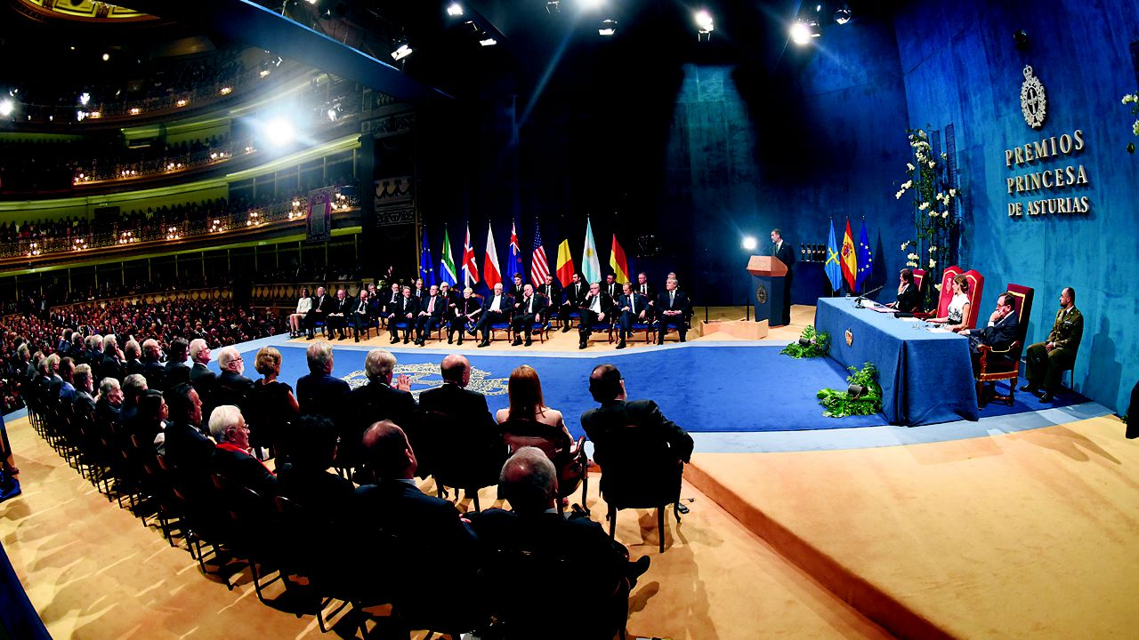 Ceremonia de entrega de los Premios Princesa de Asturias