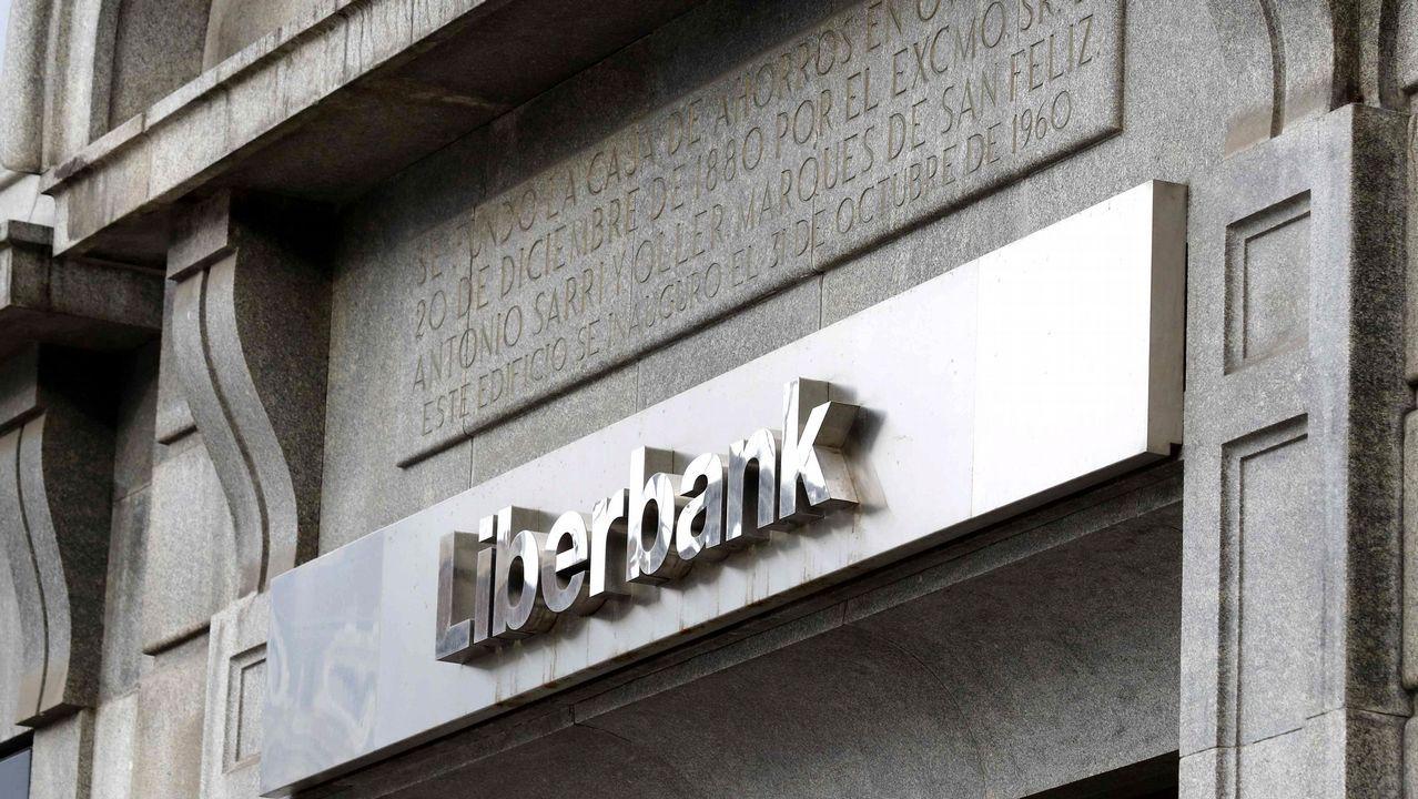 Así es la casa que Marcial Dorado poseía en Vilagarcía.Liberbank