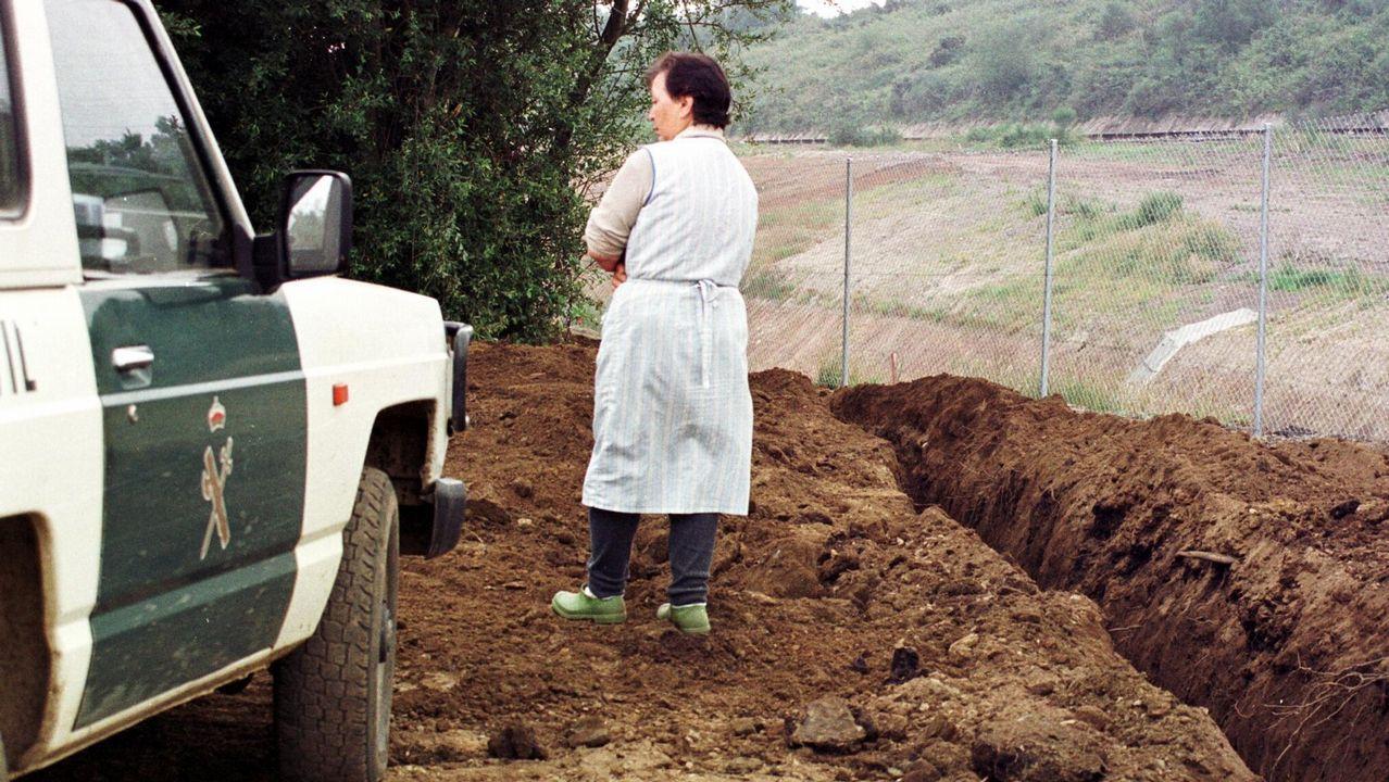 «Diez años después de traer el gas a Galicia, ahora vamos a llevarlo al mar».Construcción del gasoducto en 1998