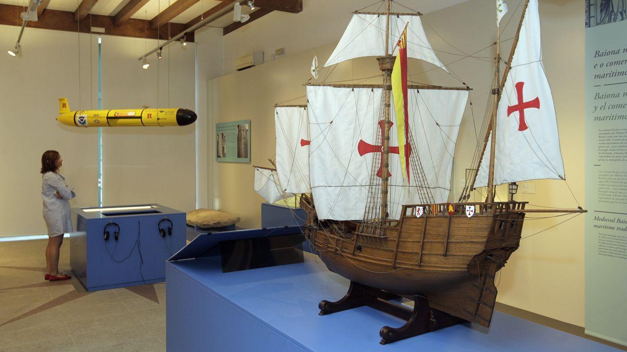 Dos veleros inician su travesía náutica xacobea desde la ría de Vigo