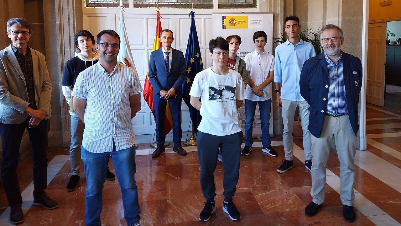 Gobierno del Principado .El consejero de Industria, Empleo y Promoción Económica, Enrique Fernández, en la clausura del programa «Asturias Mobility Innovation Hub»