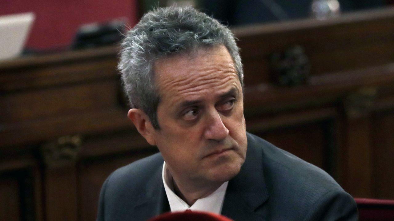 Joaquim Forn. Ex consejero de Interior y exdiputado, acusado de rebelión agravada con malversación