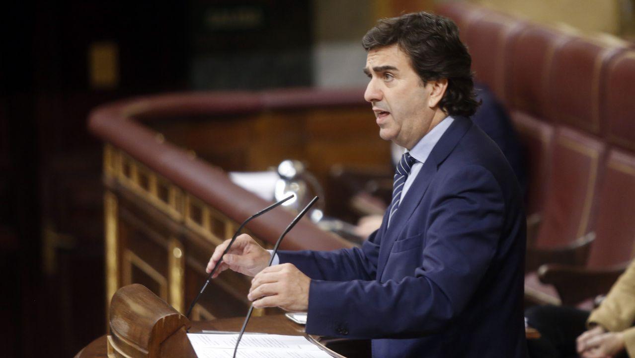 Martín Fernández Prado fue el encargado de defender los argumentos del PPdeG