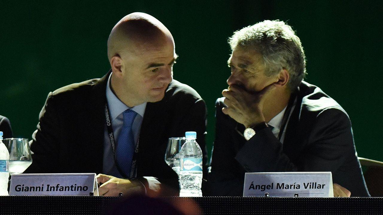Villar deja sus cargos en la FIFA y en la UEFA