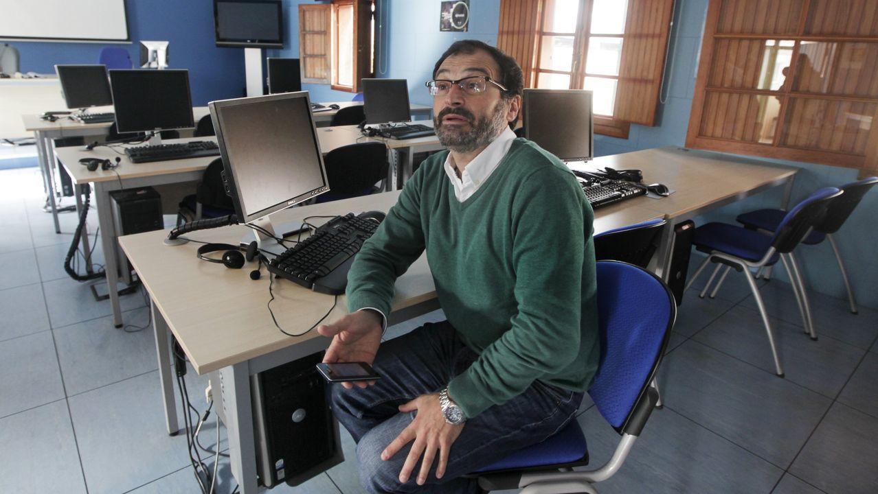 O escritor Xosé Luís Méndez Ferrín