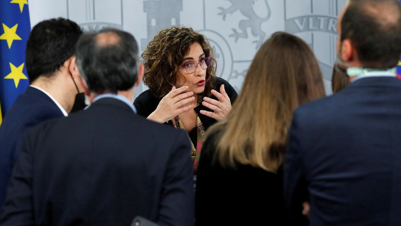 La portavoz del Gobierno del Principado, Melania Álvarez