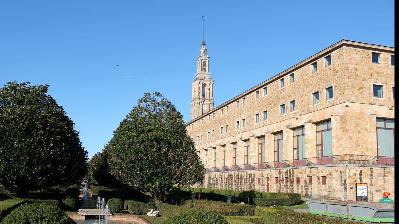 Laboral Ciudad de la Cultura.Universidad Laboral de Gijón