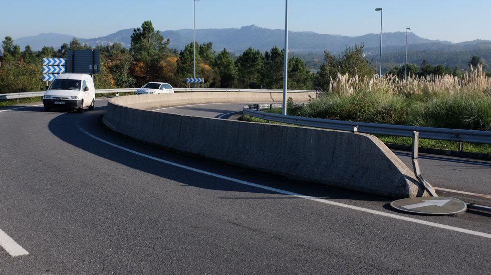 La ausencia del indicativo provocaba confusión a los conductores en la entrada de la autovía.