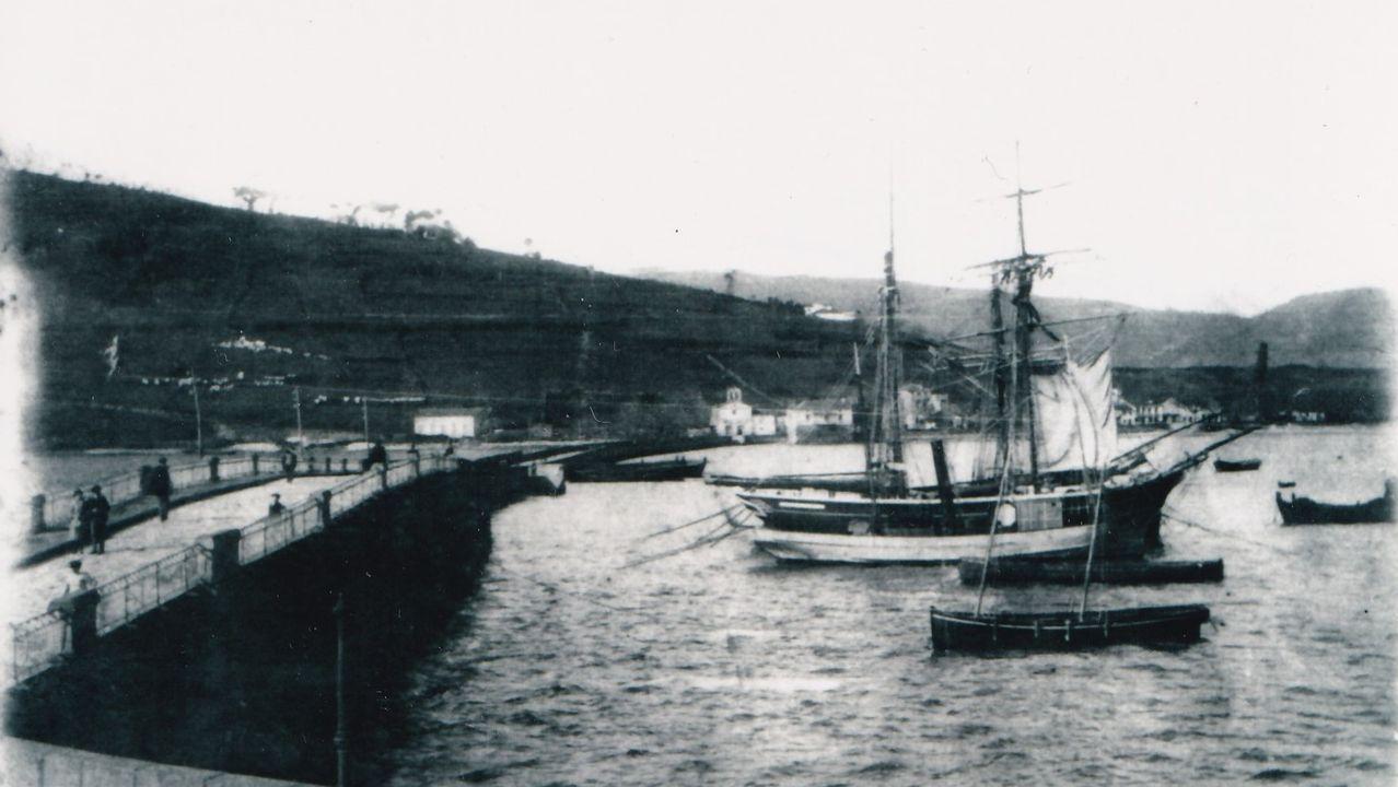 O vapor de Napoleón III atracou no porto en 1870, hai 150 anos