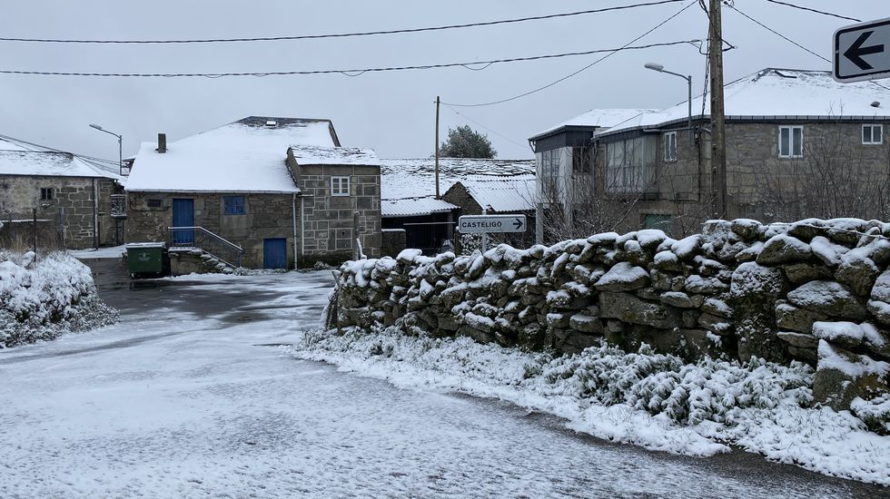 Nieve en Chandrexa de Queixa