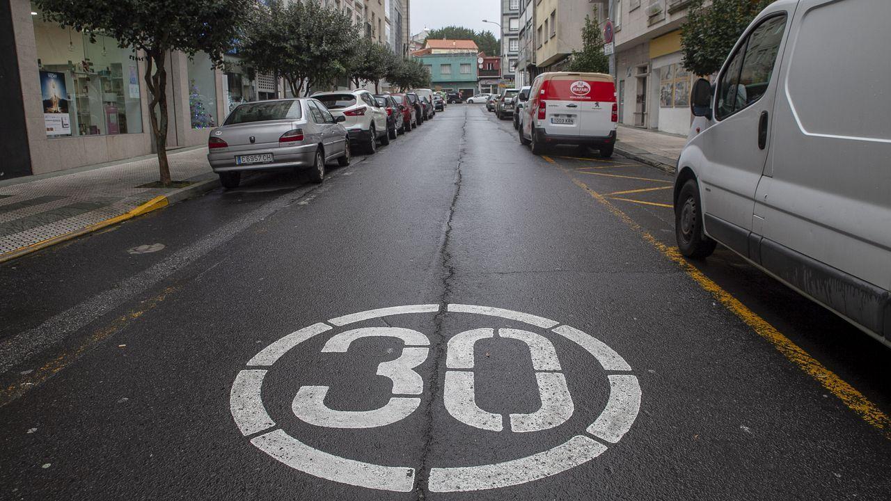 Los efectos de Dora en las carreteras lucenses
