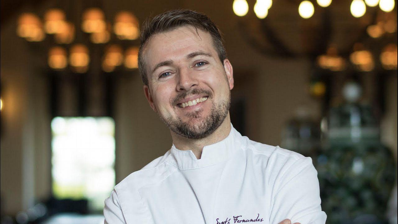 El chef Santiago Fernandez es de Rianxo