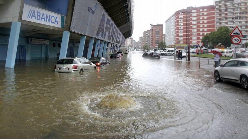Vigo, anegado