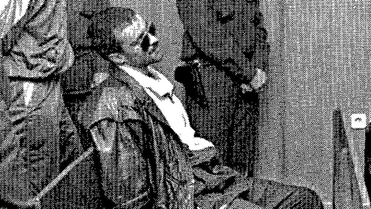 Pombo da Silva, poco antes de iniciar un juicio en la Audiencia Provincial de Pontevedra en 1994 acusado de amenazar de muerte a cuatro magistrados.