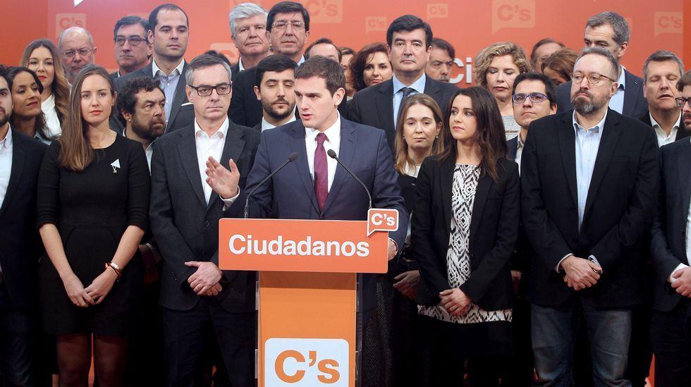 Rivera presenta su candidatura para la Ejecutiva de Ciudadanos