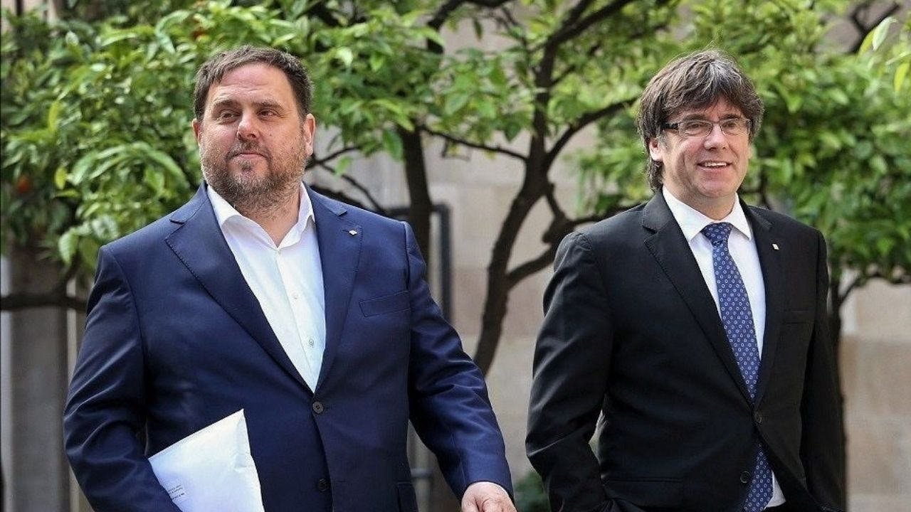 Todos los rostros del nuevo Gobierno de coalición.Imagen del puente de Rande desde su cota más alta