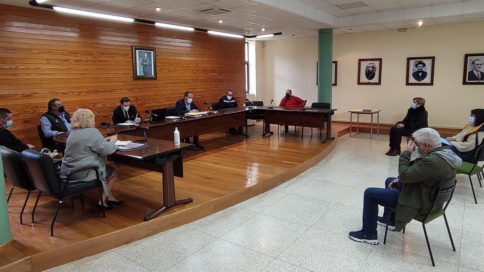 Os orzamentos municipais para o 2021 foron aprobados nun pleno que se reuniu esta semana