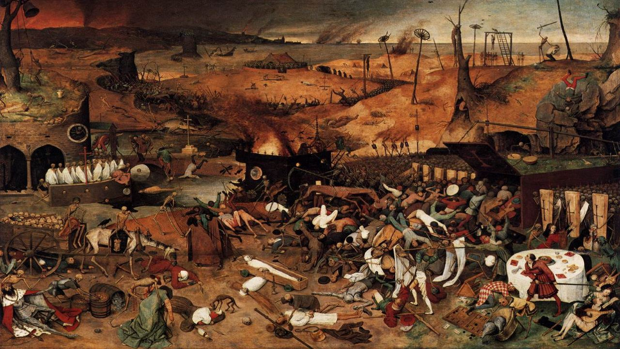 El triunfo de la muerte de Pieter Brueghel