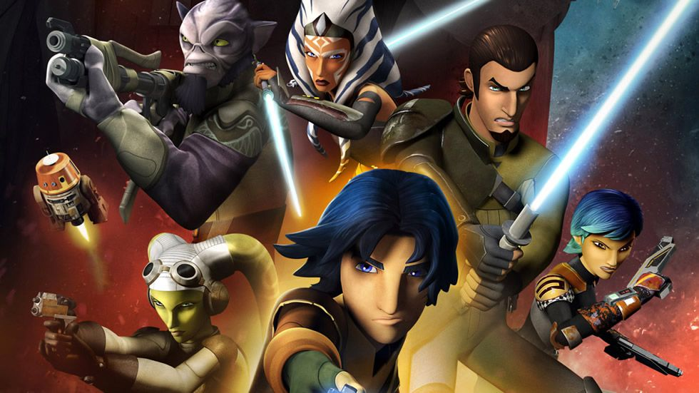 Los protagonistas de «Star Wars: Rebels»