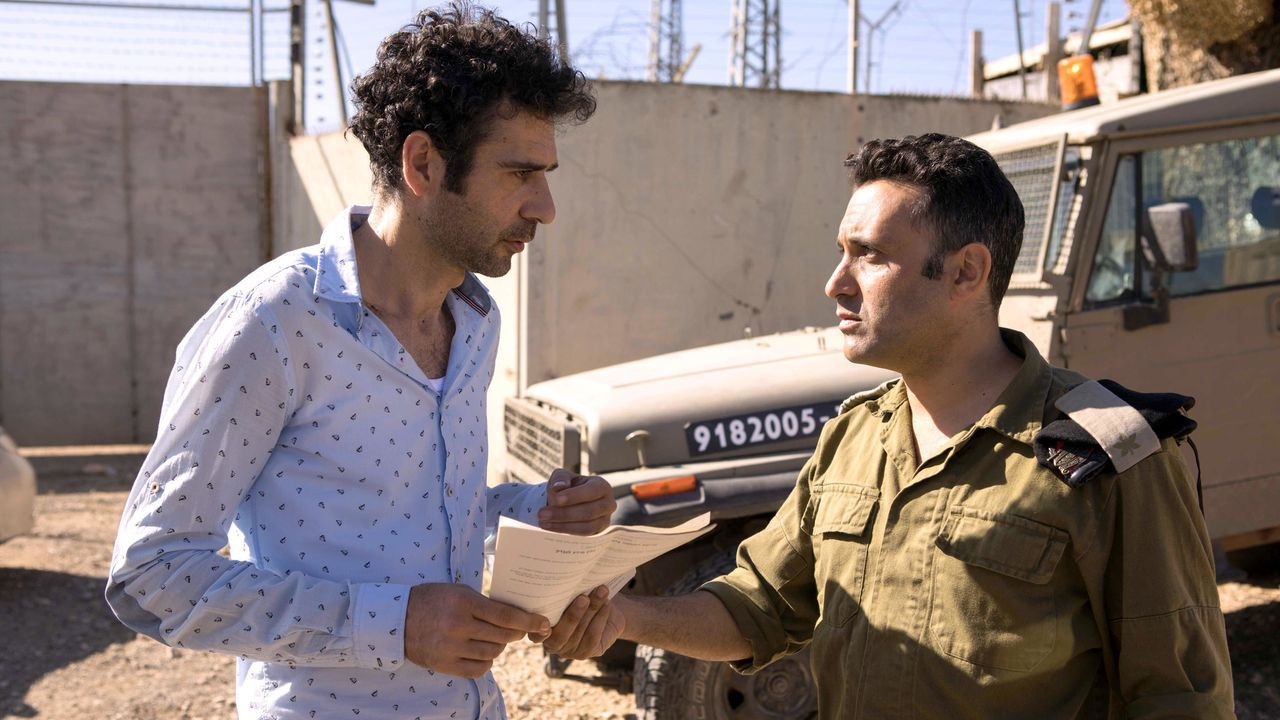 Fotograma del filme «Todo pasa en Tel Aviv»