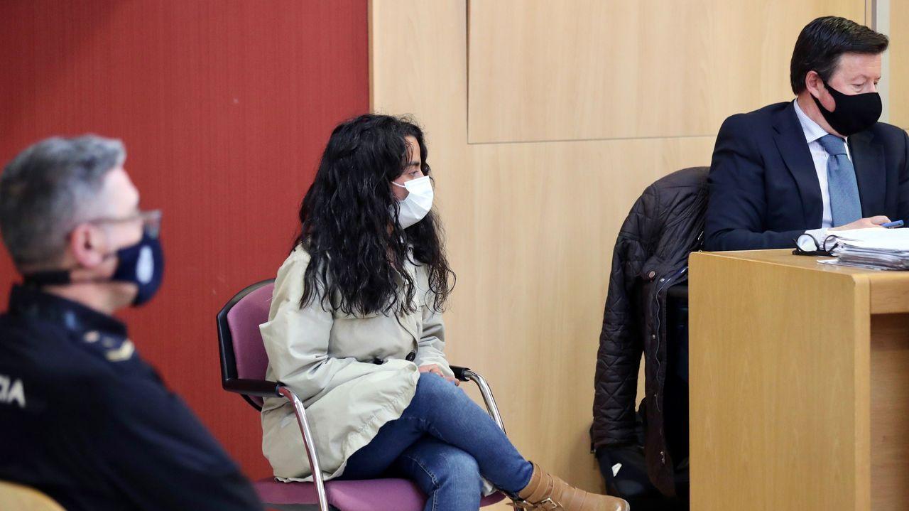 La joven acusada de apuñalar a su hijo y arrojarlo a un contenedor en el juicio