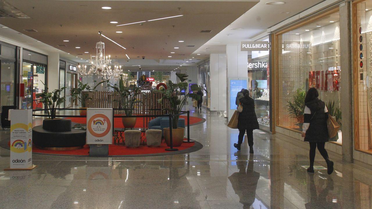 El centro comercial Odeón activa medidas adicionales para garantizar la seguridad