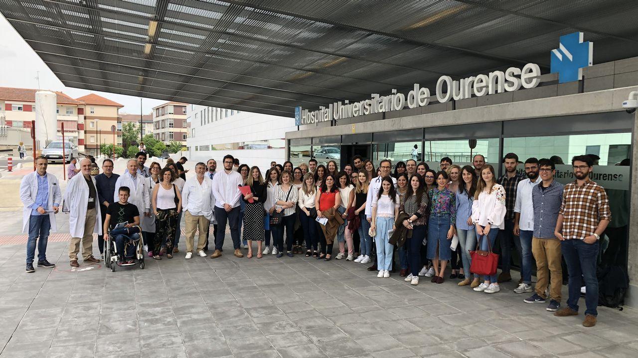 Hospital Álvarez Buylla en Mieres.El gerente del Sespa, José Ramón Riera