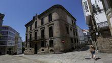 La Casa Cornide, en la ciudad vieja de A Coruña