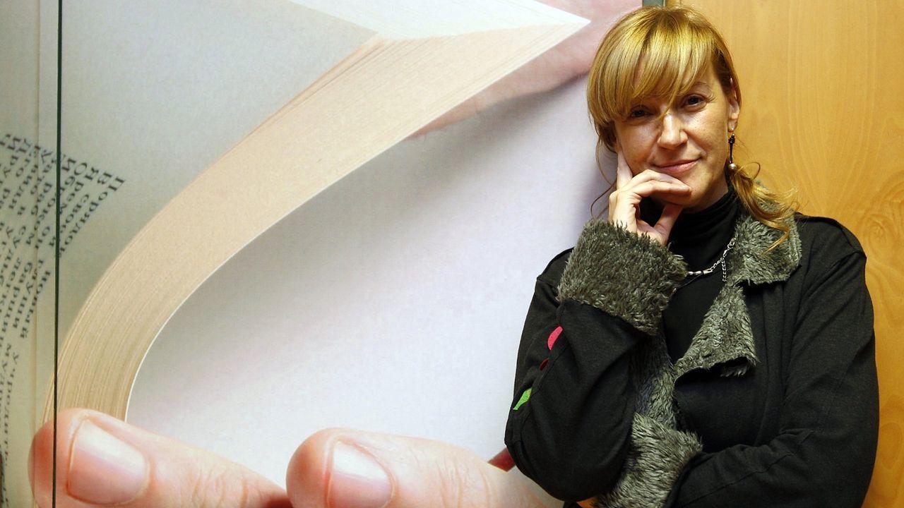A xornalista e escritora Begoña Caamaño nunha imaxe do 2009