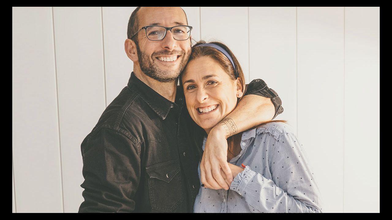 Carlos Carballeira y María Rioboo
