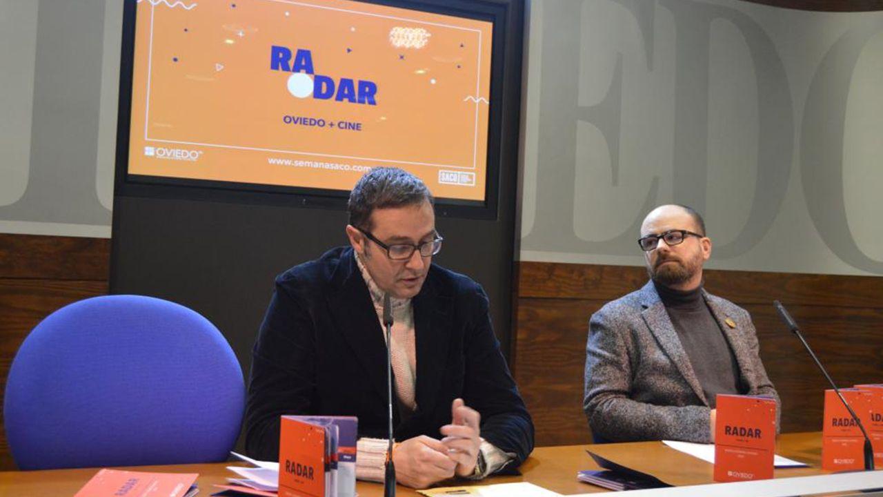 José Luis Costillas y Pablo de María presentan la nueva programación del ciclo de cine Radar