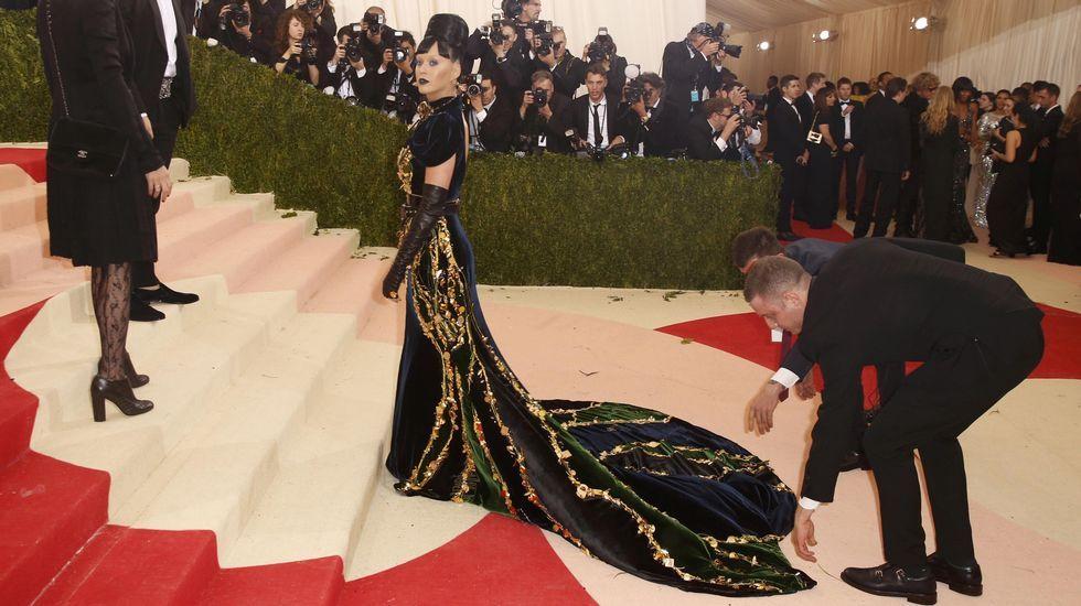 La cantante Katy Perry.