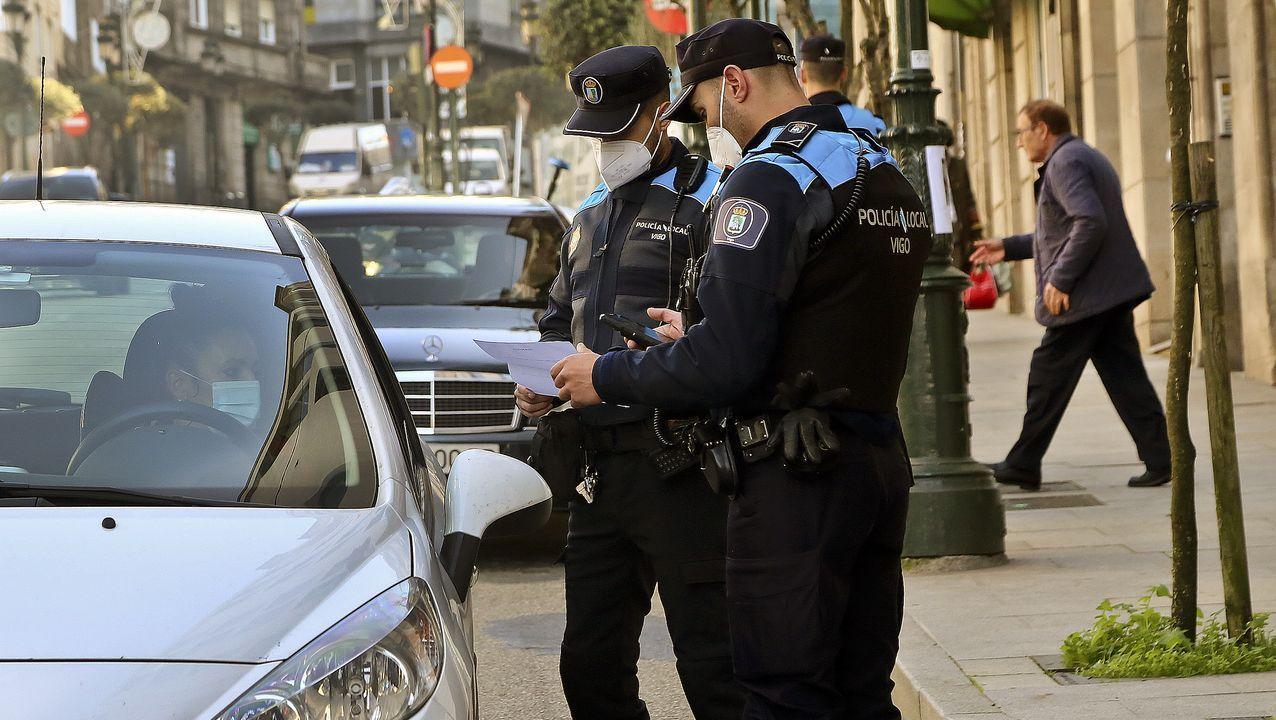 Control del cierre perimetral de Vigo