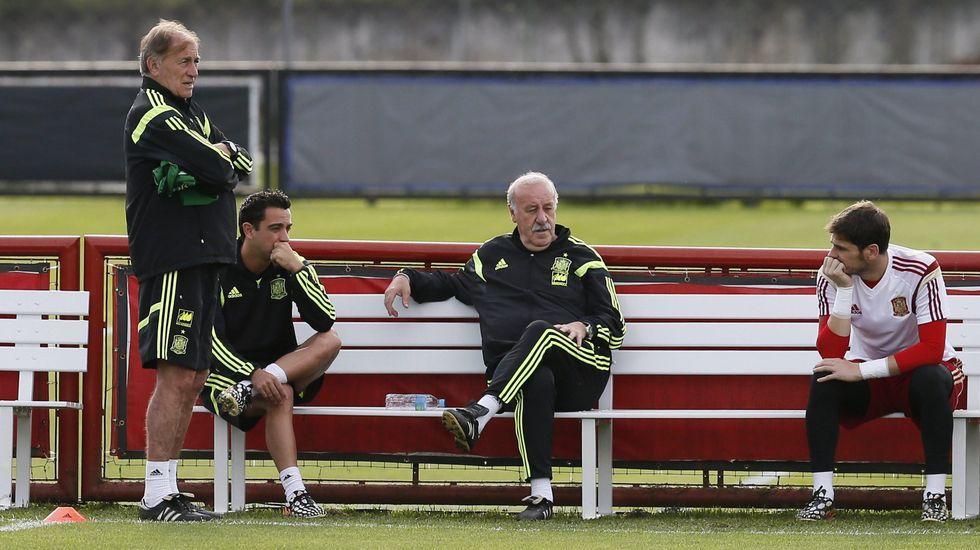 Xavi habla sobre la polémica de Casillas y Del Bosque