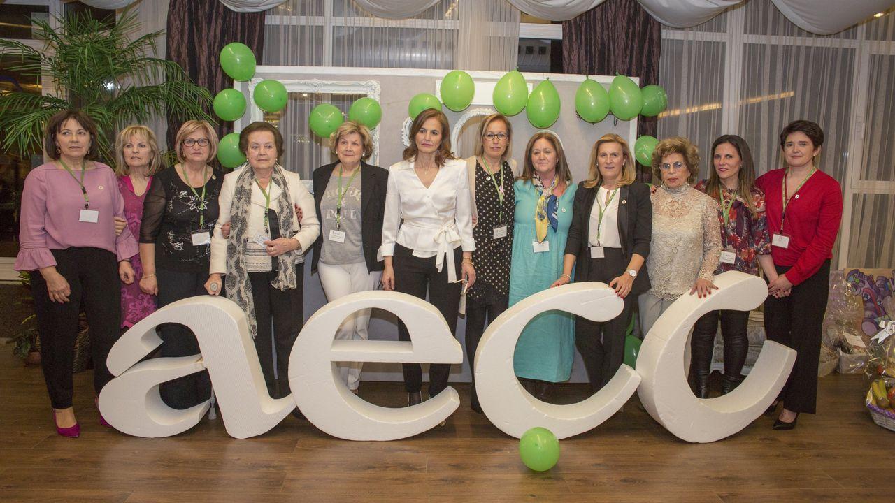 Todas las imágenes de la cena contra el cáncer celebrada en Carballo.Afiprodel visitó recientemente Portugal para conocer el proyecto pionero de las Aldeias Históricas, una iniciativa de gestión comarcal conjunta.