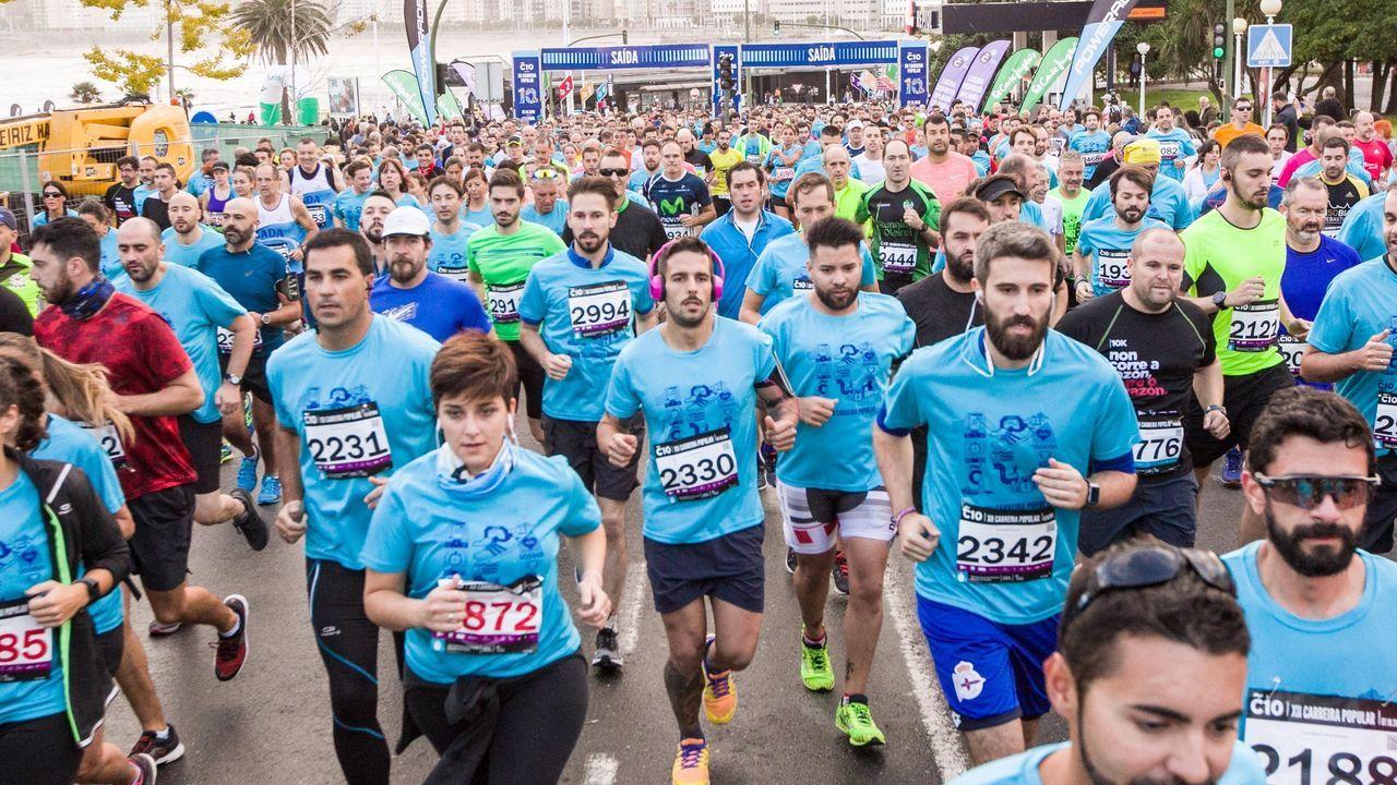 La carrera popular Coruña10 apuesta por la inclusión
