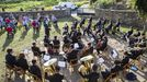 A Xove Banda de Narón, no Couto, Ponteceso: ¡as imaxes!