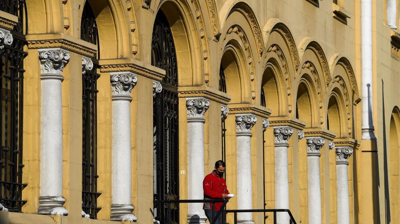 Vista exterior del edificio de la Presidencia del Gobierno del Principado